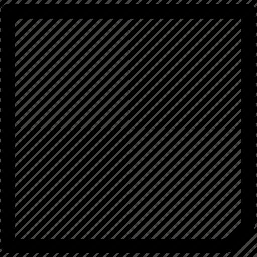 audio, end, multimedia, music, sound, square, stop icon