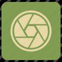 chrome, multimedia, vintage icon