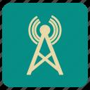 multimedia, signal, vintage icon