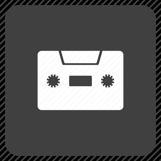 casette, media, multimedia, music icon