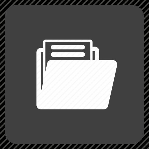 folder, media, multimedia, music icon