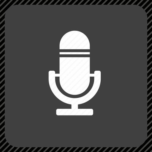 media, mic, multimedia, music icon