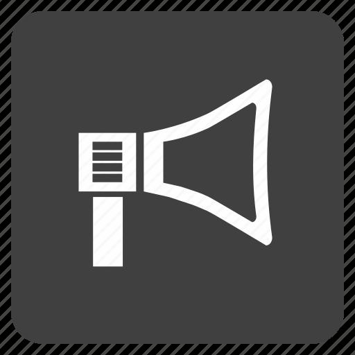 media, multimedia, music, speaker icon