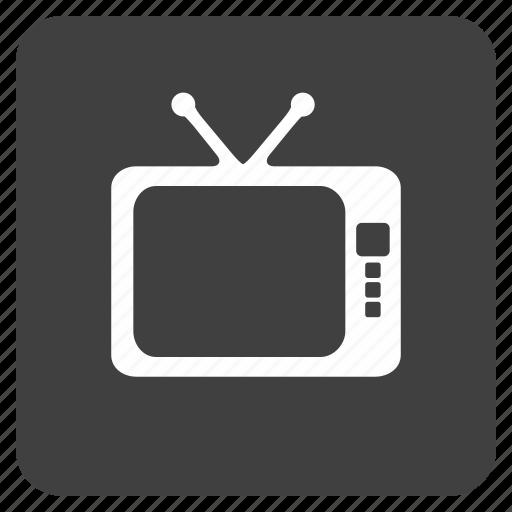 media, multimedia, music, tv icon