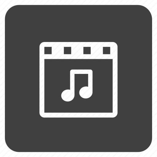file, media, multimedia, music, video icon
