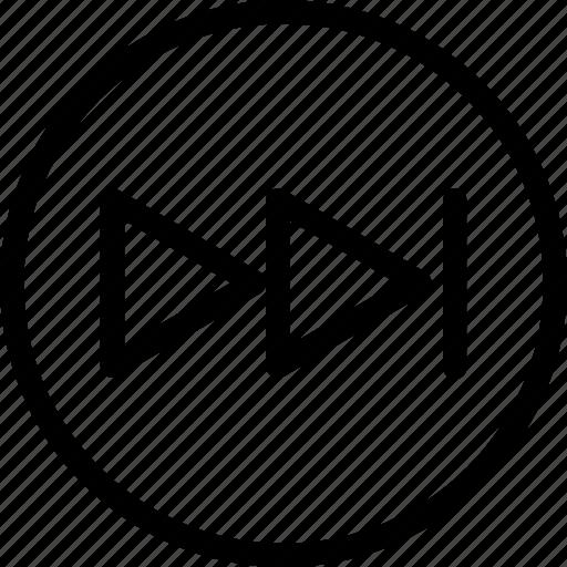 Fast, forward, next, sound icon - Download on Iconfinder