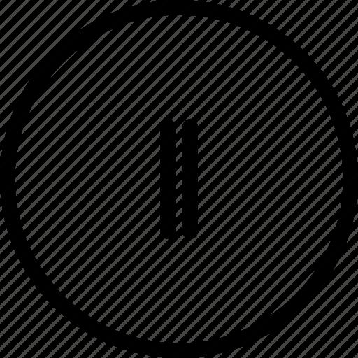music, pause, sound, stop icon