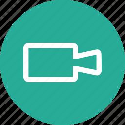 camera, movie, sound, video icon