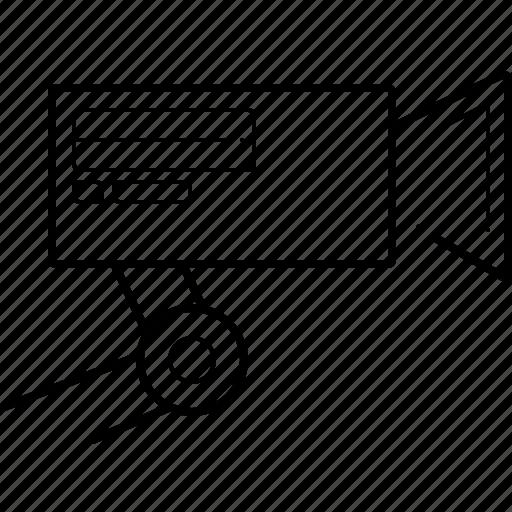 camera, cctv, rendering, security, surveillance icon