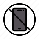 mobile, notallowed, restricted, photo, media icon