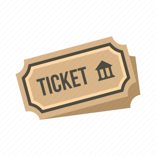 admit, concert, coupon, event, museum, paper, ticket icon