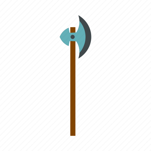 antique, ax, blade, medieval, steel, war, weapon icon