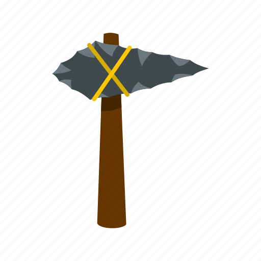 ancient, axe, hammer, primitive, stone, tool, weapon icon