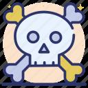 halloween skull, human skull, skull, skull anatomy, skull bones icon