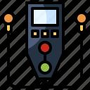 audio, earphones, electronics, guide