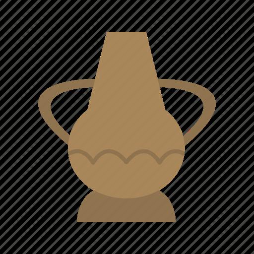 ancient, clay, jar, jug, old, pot, pottery icon
