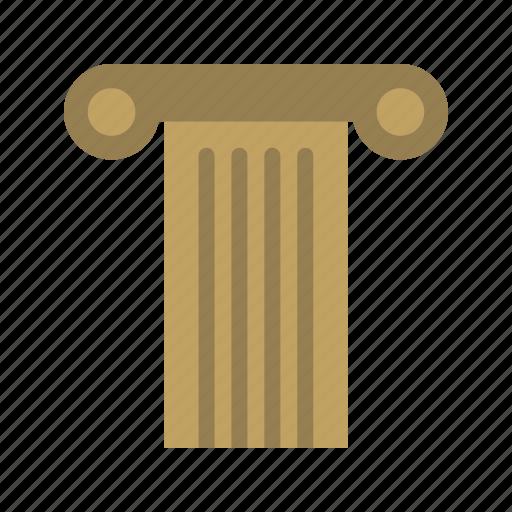 ancient, classic, column, ionic, museum, pillar, roman icon
