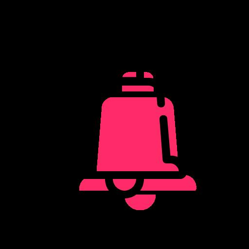 bell, buzzer, handbell, sound, timepiece icon
