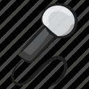 colloquially, electronic mic, input device, media, mic, microphone, singing mic