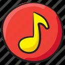 media button, media option, multimedia, music button, sound button