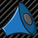 announcement, communication, loud hailer, loudspeaker, megaphone, promotion