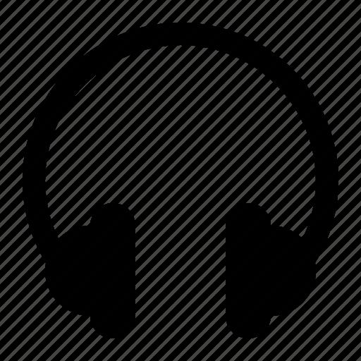 headphone, music, sound, speaker, volume icon