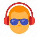 audio, dj, headphones, music, party, sound icon