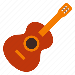 acoustic, guitar, instrument, music, sound, string, stringed icon