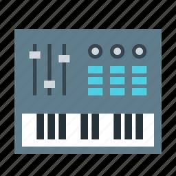 audio, electronic, midi, music, sound icon