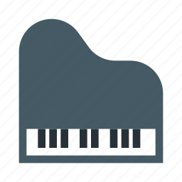 classic, instrument, keyboard, music, piano, sound icon