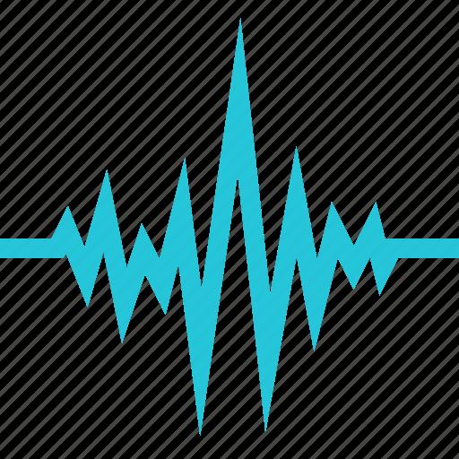audio, music, sound, speaker, volume, wave icon