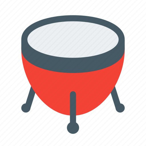 instrument, music, musical, percussion, sound, timpani, timpany icon
