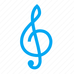 clef, key, music, musical, note, start, treble icon
