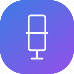 mic, microphone, music, purple, record, sound, voice icon