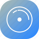 audio, blue, disk, gramophone record, music, record, sound icon