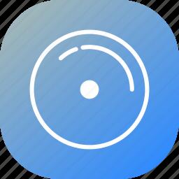 audio, blue, disk, gramophone record, music, record, sound icon