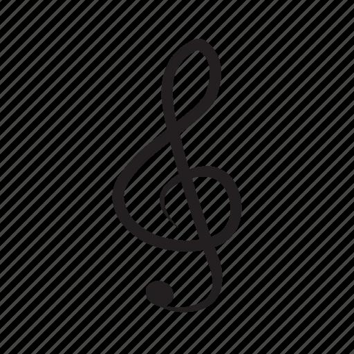 key, music, not icon