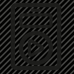 ipod, music, streamline icon