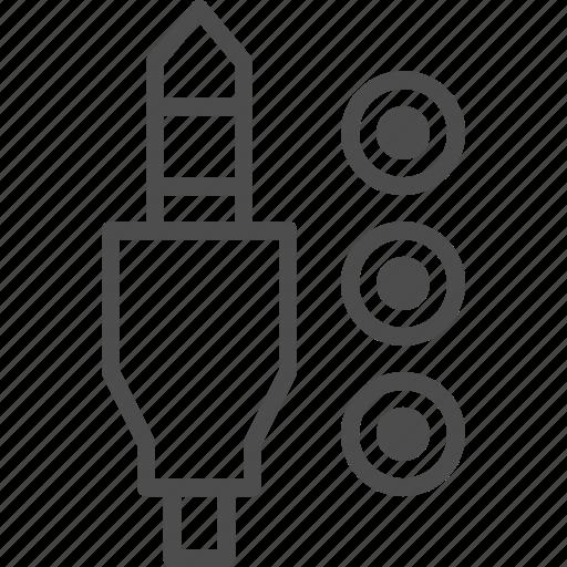 audio, connector, entertainment, jack, music icon