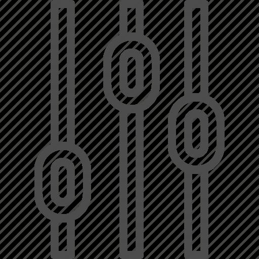 control, entertainment, gain, music, voice, volume icon