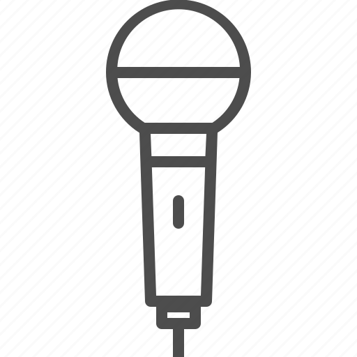 entertainment, microphone, music, record, sing, sound icon