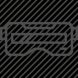 entertainment, game, glasses, movie, music, reality, virtual icon