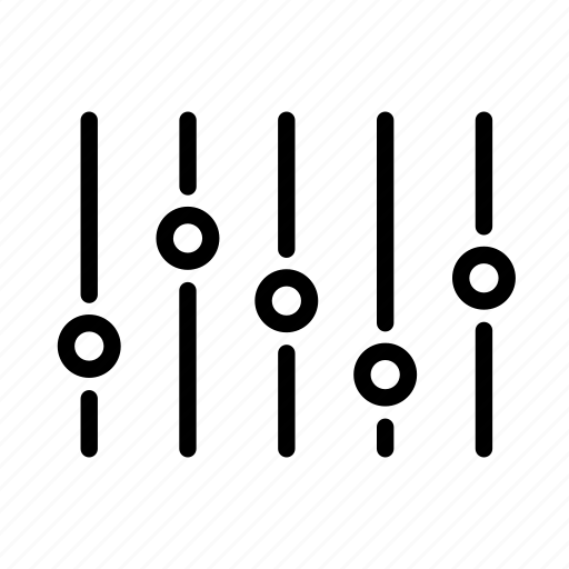 line, music, note, sound, ui, volume, web icon