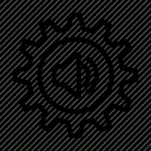 music, note, preferences, speaker, ui, volume, web icon