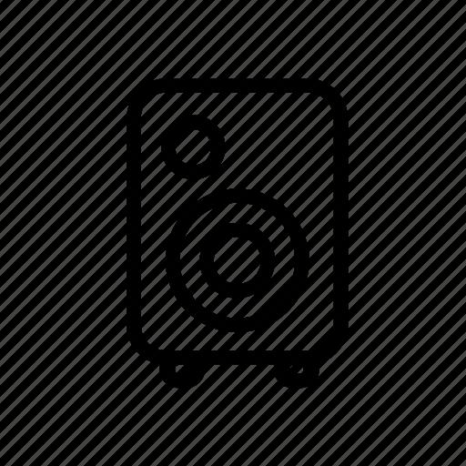 loudspeaker, music, sound, speaker, ui, web icon