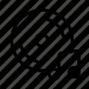 cd, line, music, note, sound, ui, web icon