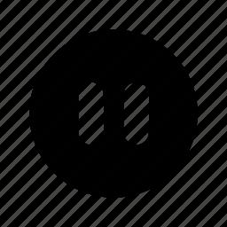 music, pause, sound icon