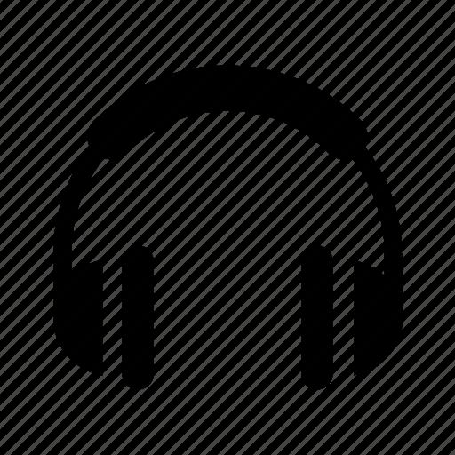 headset, music, sound icon