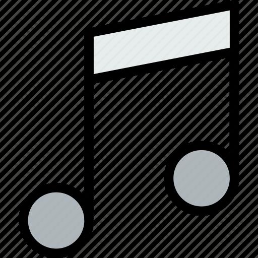 audio, music, musical, note, studio icon