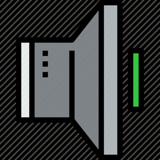 audio, music, musical, speaker, studio icon